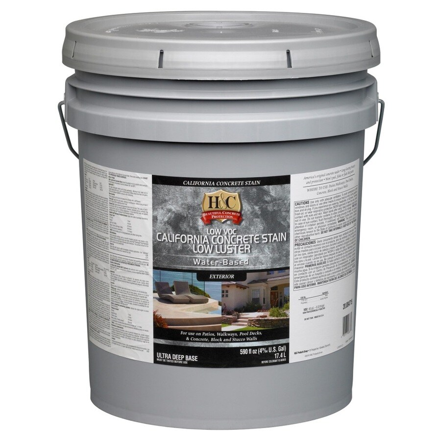 H&C 5-Gallon Water-Based Concrete Stain