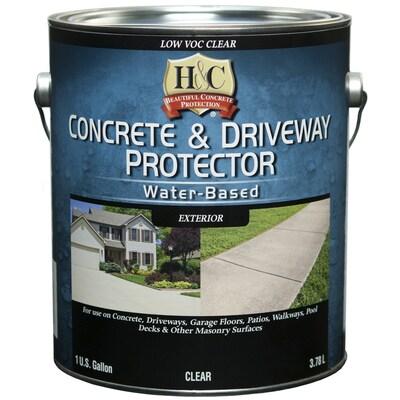 H&C Clear Transparent Concrete Sealer (Gallon)