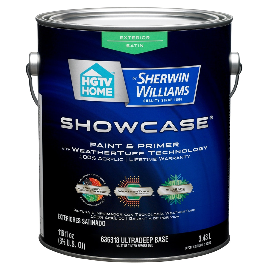 Shop HGTV HOME by Sherwin-Williams Showcase Tintable Satin Latex ...