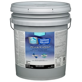Hgtv Home By Sherwin Williams Ovation Tintable Flat Latex Exterior Paint Actual Net Contents