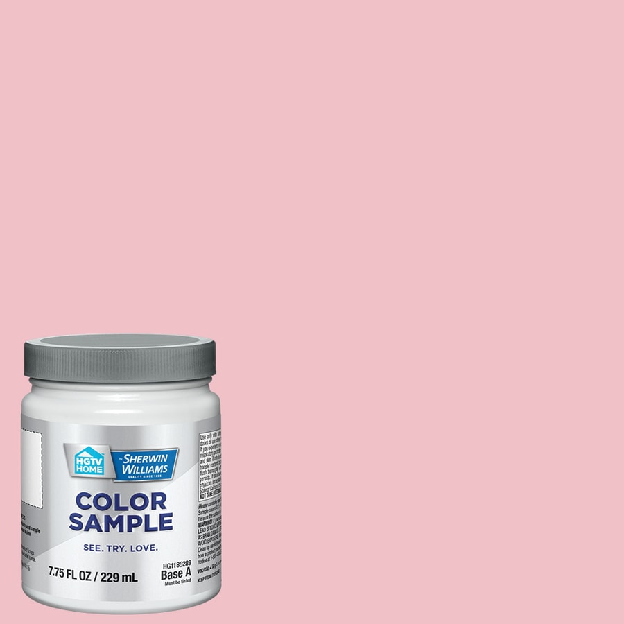 Hgtv Home By Sherwin Williams Everything Pink Interior Paint Sample Actual Net Contents