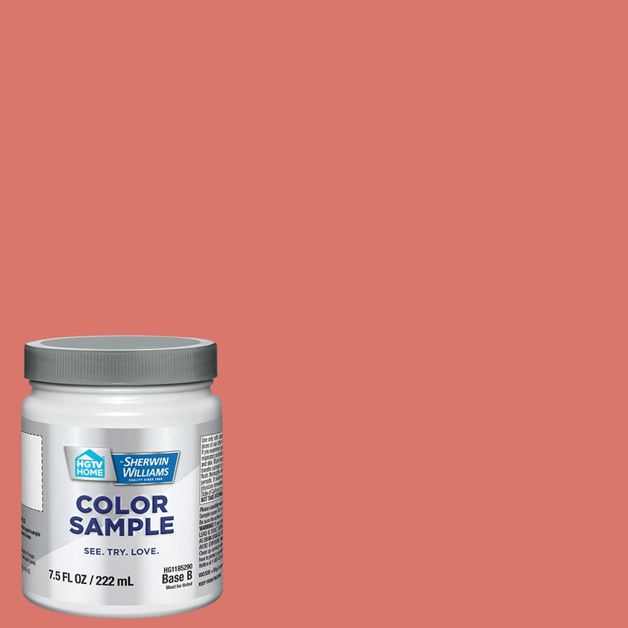 Coral Reef Paint Color Shop Hgtv Home By Sherwin Williams Coral Reef Interior Eggshell