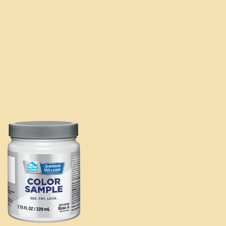 Shop HGTV HOME by Sherwin-Williams Cotton Twill Interior Paint ...