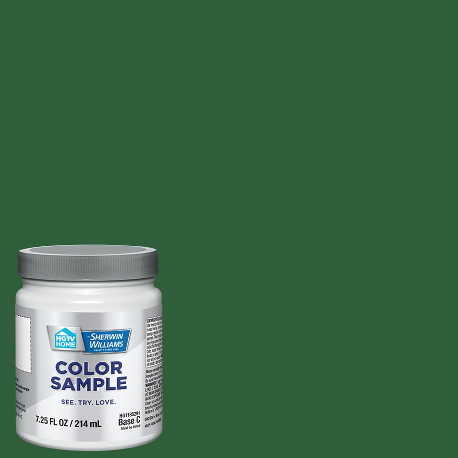 HGTV HOME by Sherwin-Williams Rainforest Canopy Interior Eggshell Paint Sample (Actual Net Contents: 29-fl oz)