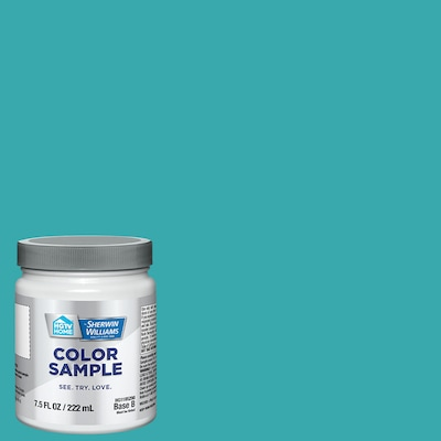 Hgtv Home By Sherwin Williams Pursuit Of Teal Interior Paint