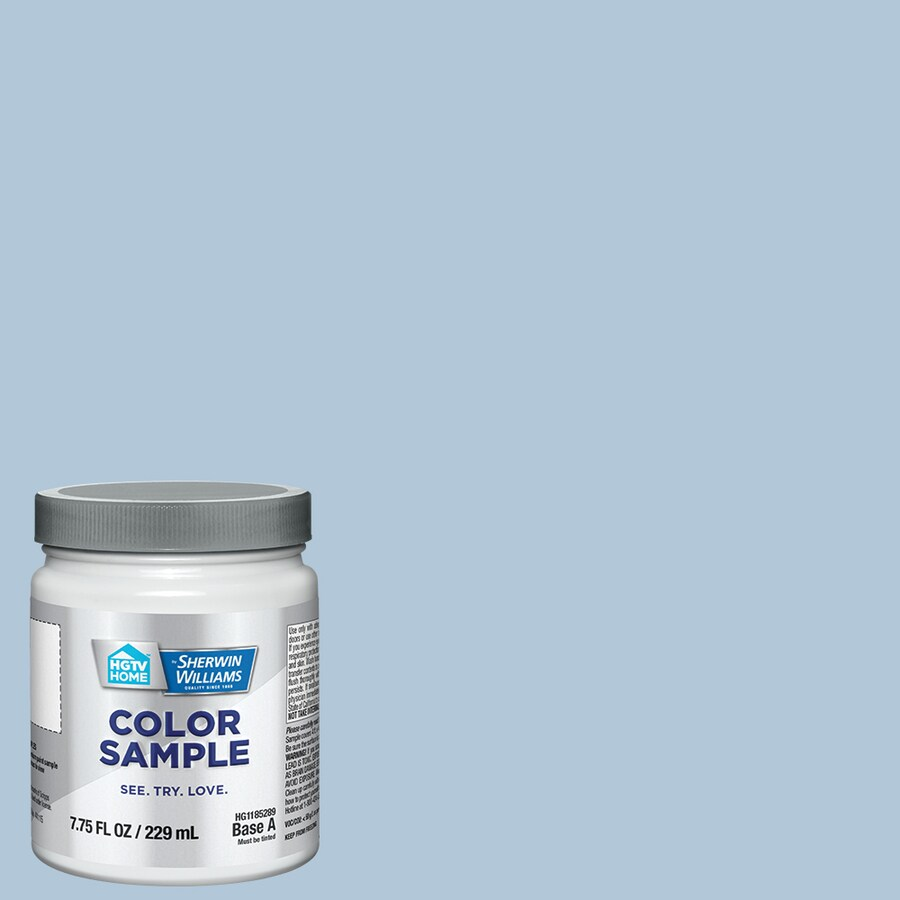 Hgtv Home By Sherwin Williams Blissful Blue Interior Paint Sample Actual Net Contents 8 Fl Oz