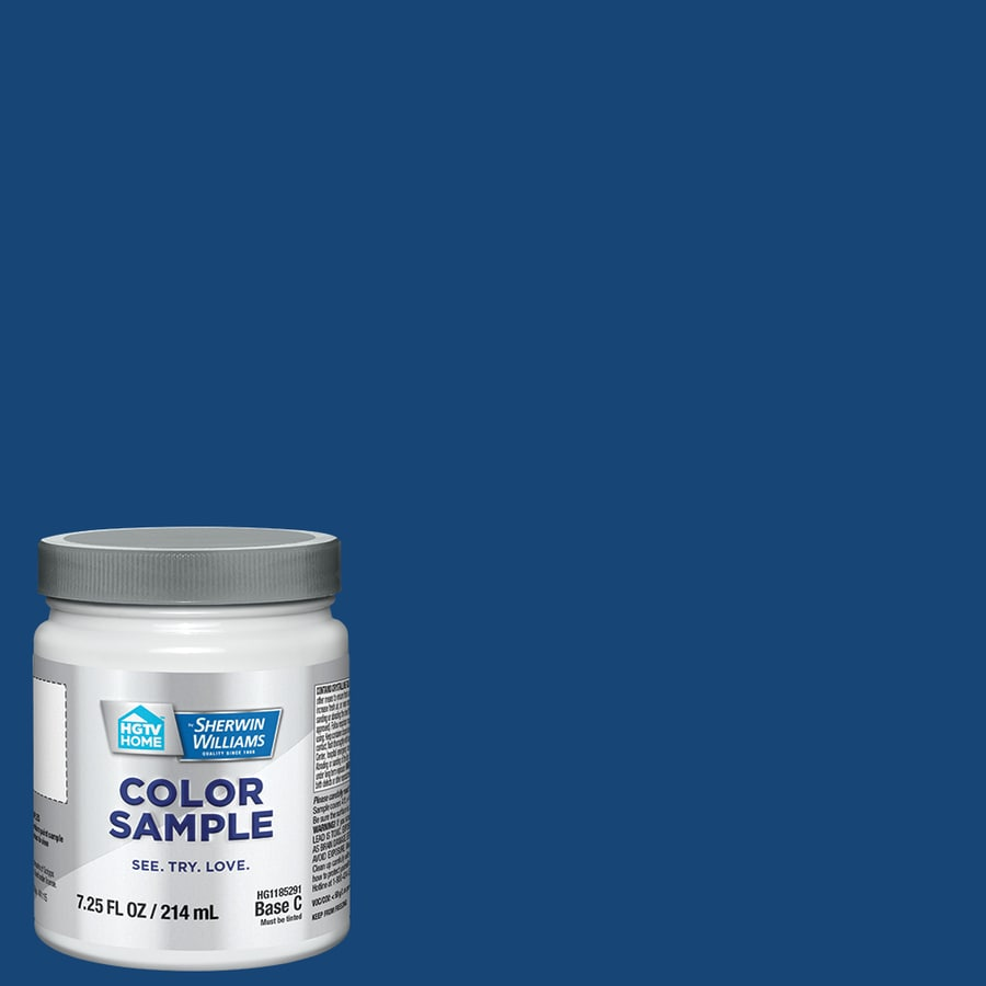 Hgtv Home By Sherwin Williams Delft Pottery Interior Paint Sample Actual Net Contents