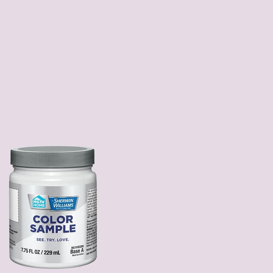 Purple Interior Paint: HGTV HOME By Sherwin-Williams Matte Purple Interior Paint