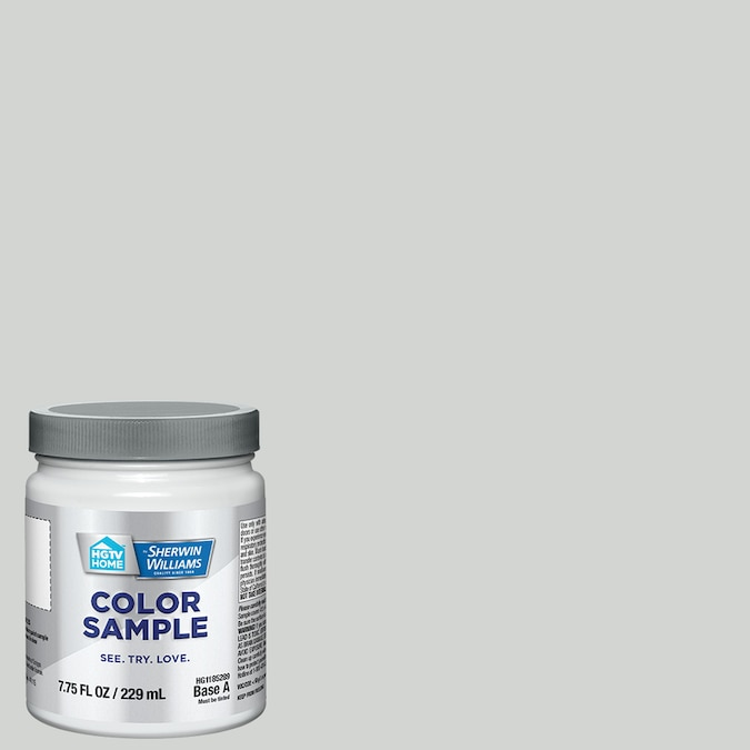 Hgtv Home By Sherwin Williams Stone Eagle Interior Paint Sample Half Pint In The Paint Samples Department At Lowes Com