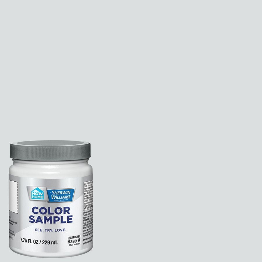 HGTV HOME by Sherwin-Williams Icicle Interior Eggshell Paint Sample (Actual Net Contents: 31-fl oz)