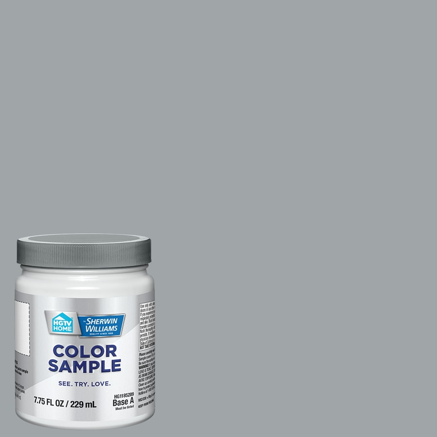 HGTV HOME By Sherwin Williams Contemporary Grey Interior Paint Sample  (Actual Net Contents: 8 Fl Oz)