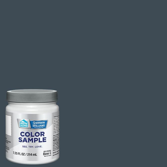 Sherwin Williams Navy Sea Wall blue paint color. #navyblue #paintcolors #sherwinwilliamsnavyseawall