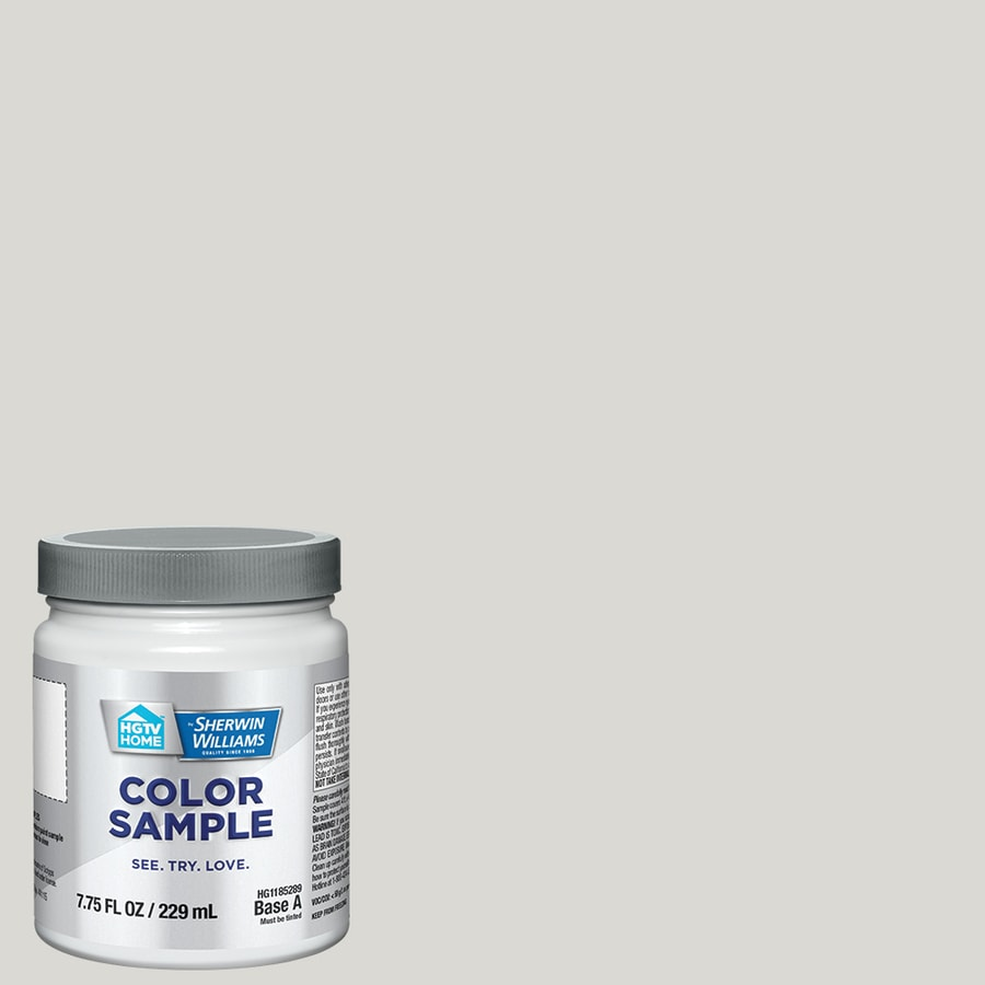 HGTV HOME by Sherwin-Williams Glacial Stream Interior Eggshell Paint Sample (Actual Net Contents: 31-fl oz)