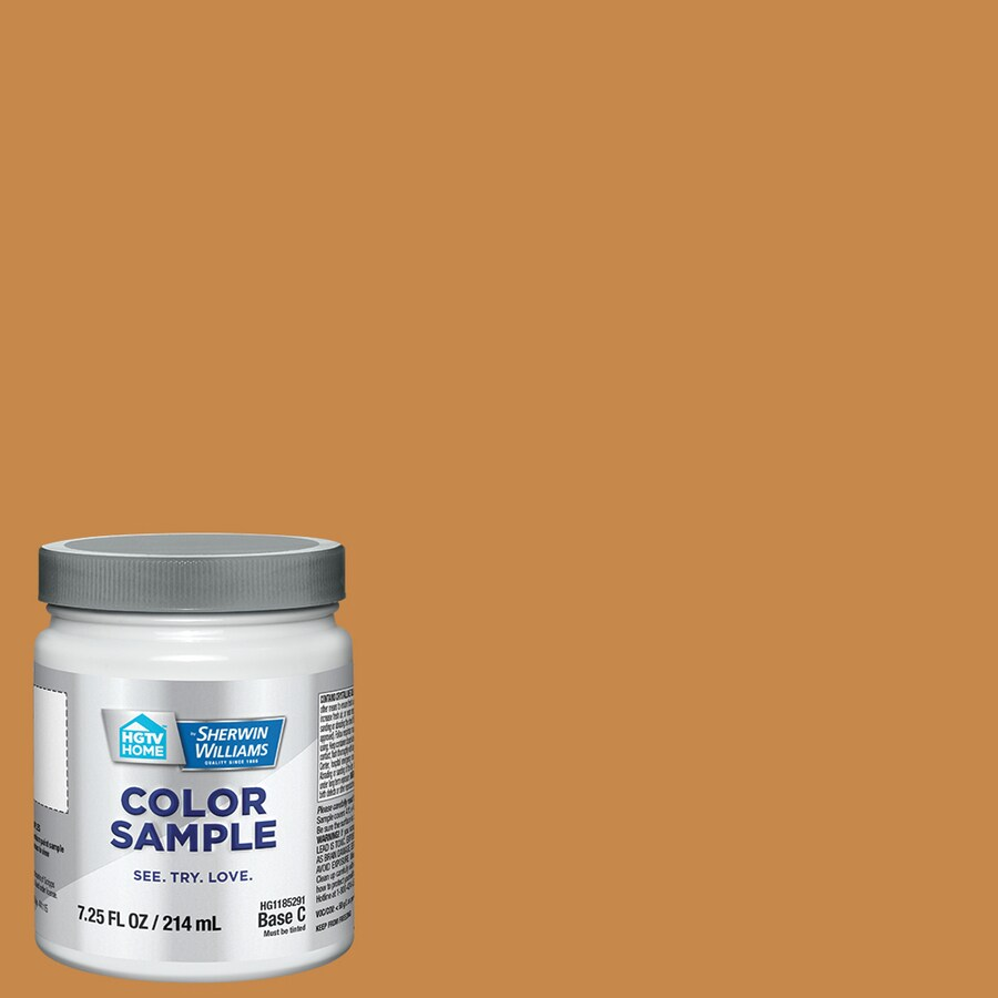 Hgtv Home By Sherwin Williams Gallery Gold Interior Paint Sample Actual Net Contents 8 Fl Oz