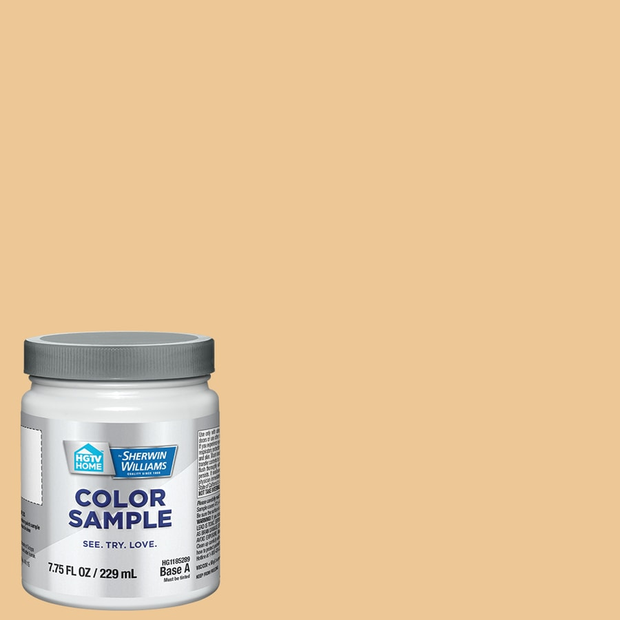 Hgtv Home By Sherwin Williams Doyle Gold Interior Paint Sample Actual Net Contents 8 Fl Oz