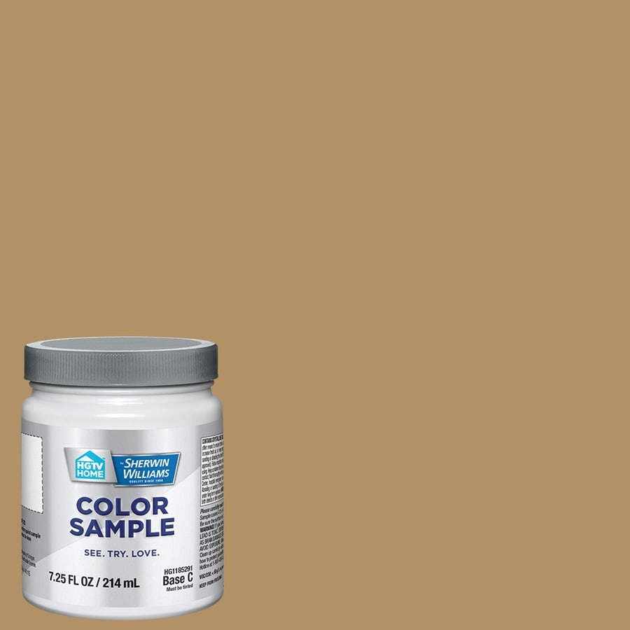 Hgtv Home By Sherwin Williams Baguette Interior Paint Sample Actual Net Contents 8 Fl Oz