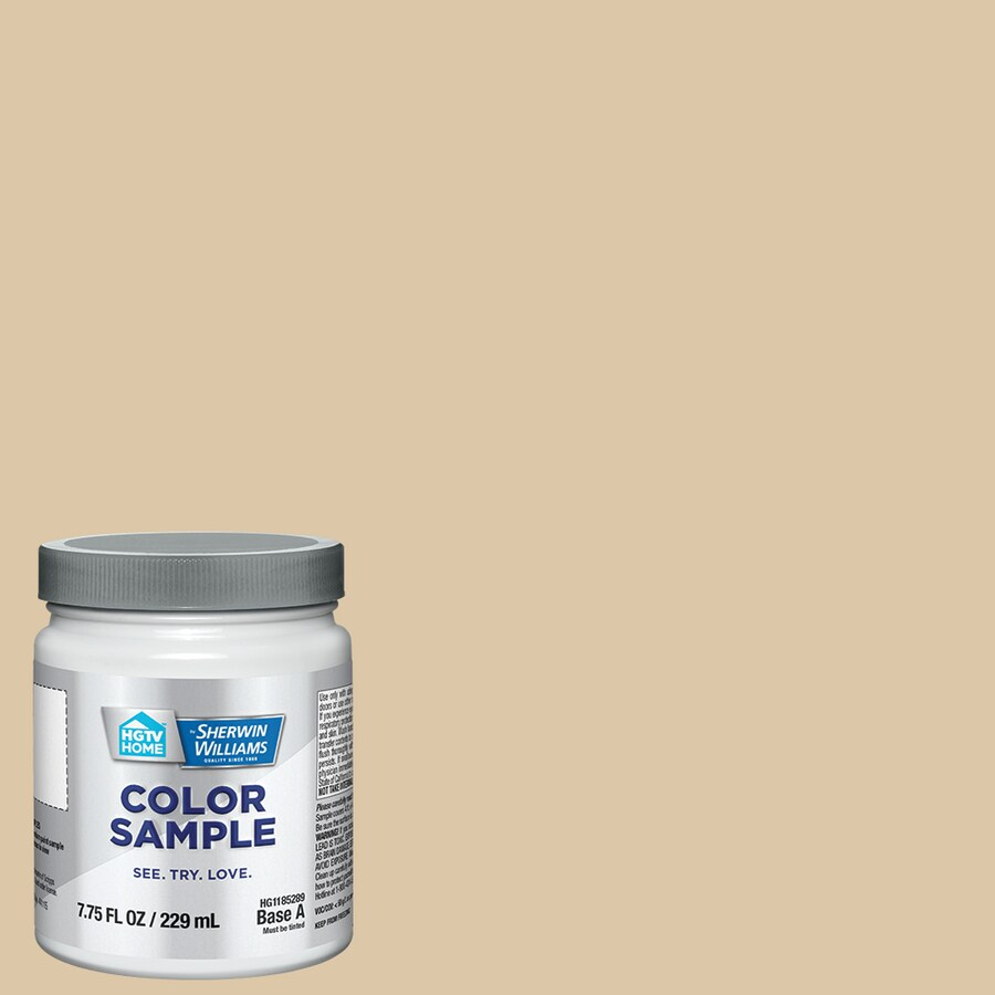 Sherwin williams believable buff - Hgtv Home By Sherwin Williams Believable Buff Interior Eggshell Paint Sample Actual Net Contents