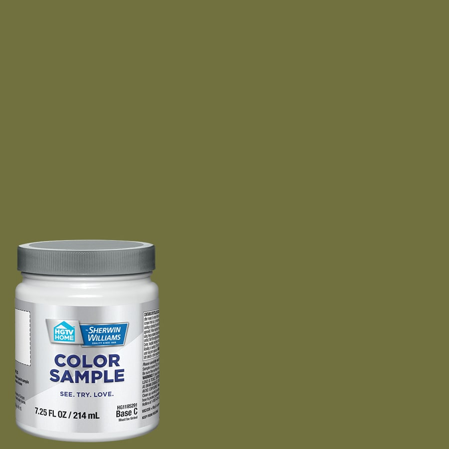HGTV HOME By Sherwin Williams Natural Habitat Interior Paint Sample (Actual  Net Contents: