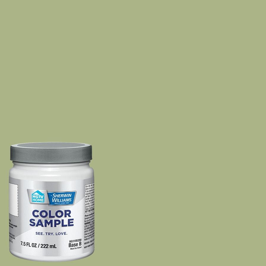 Hgtv Home By Sherwin Williams Pistachio Gelato Interior Paint Sample Actual Net Contents
