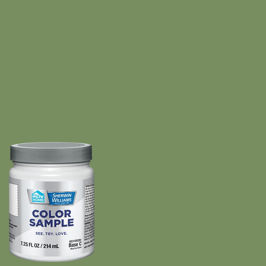 HGTV HOME By Sherwin Williams Conservation Green Interior Paint Sample  (Actual Net Contents: