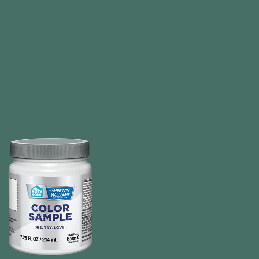 HGTV HOME by Sherwin-Williams Cloverfields Interior Eggshell Paint Sample (Actual Net Contents: 29.5-fl oz)