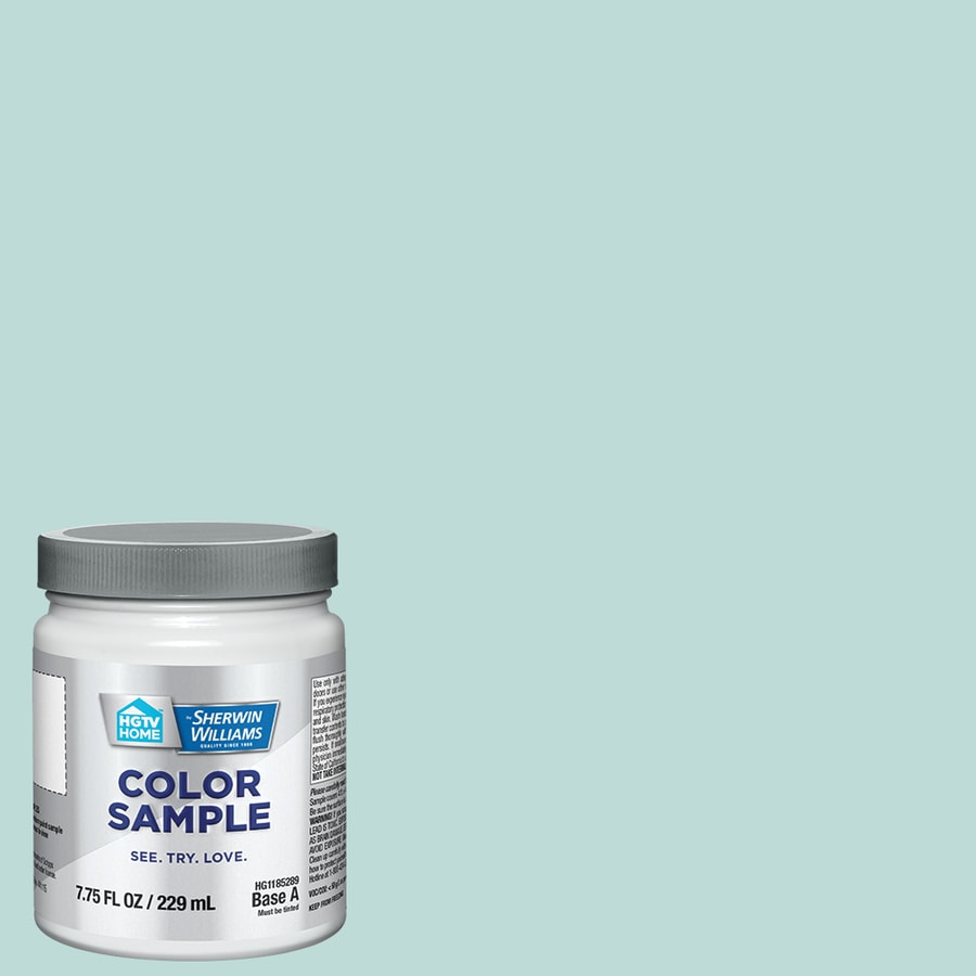 Shop HGTV HOME by Sherwin-Williams Mint to Be Interior Eggshell ...