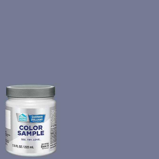 Sherwin-Williams Purple Thrush paint color. #paintcolors #wherwinwilliamspurplethrush #periwinkleblue #bluepaintcolors
