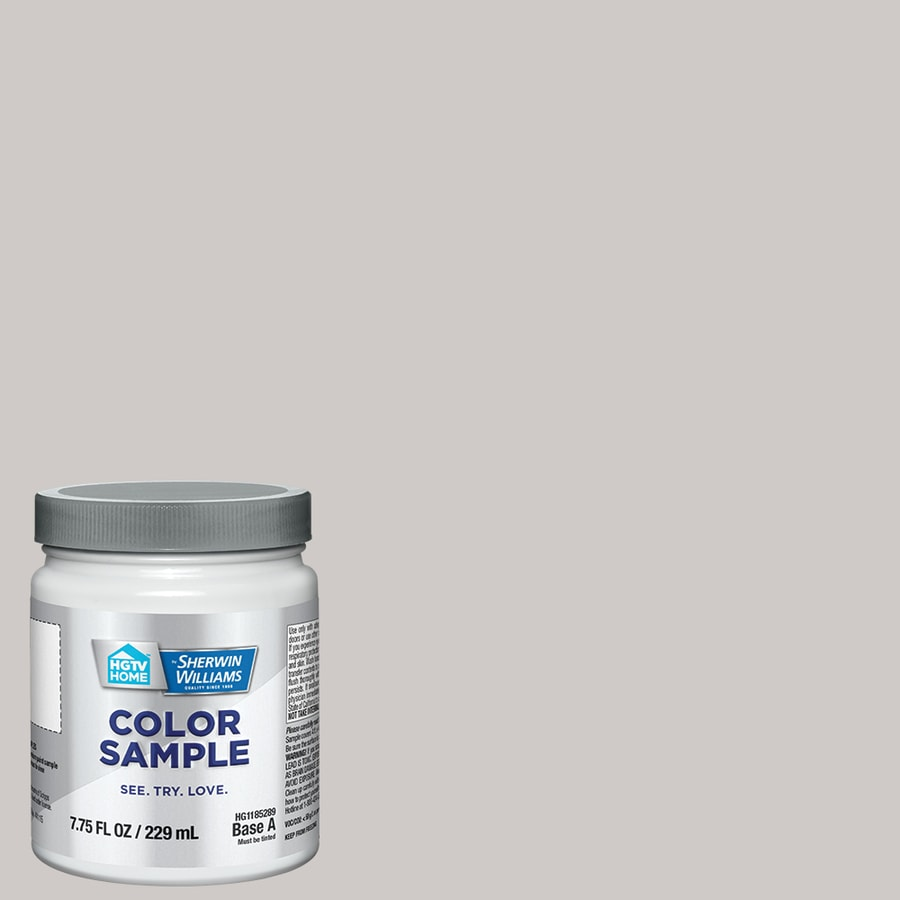 Hgtv Home By Sherwin Williams Grayish Interior Paint Sample Actual Net Contents 8