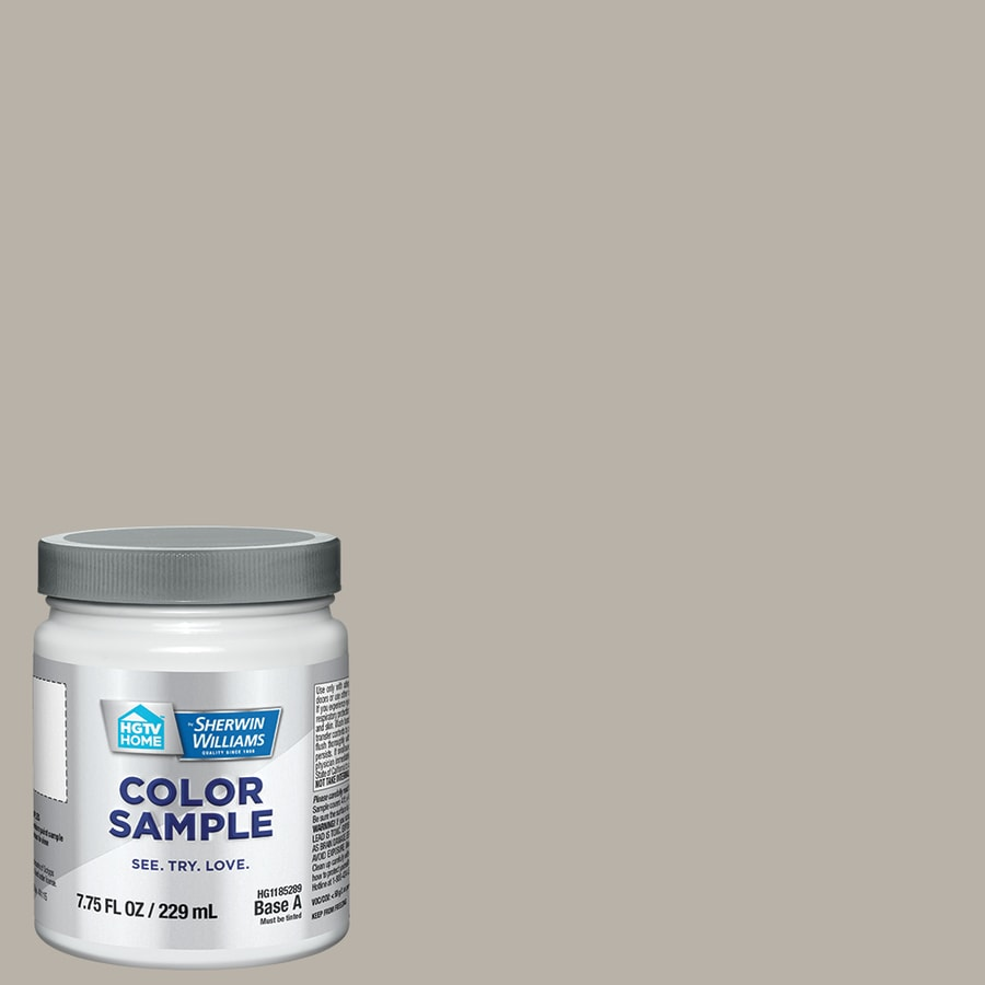 HGTV HOME By Sherwin Williams Requisite Gray Interior Paint Sample Actual Net Contents
