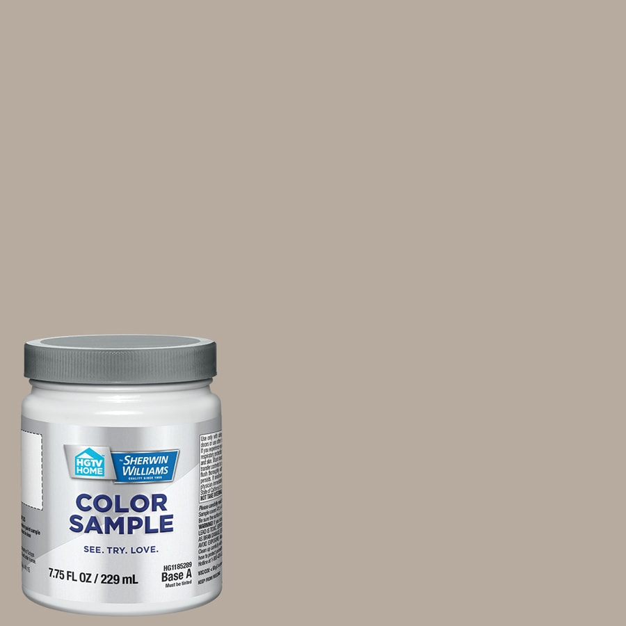 HGTV HOME By Sherwin Williams Perfect Greige Interior Paint Sample (Actual  Net Contents: