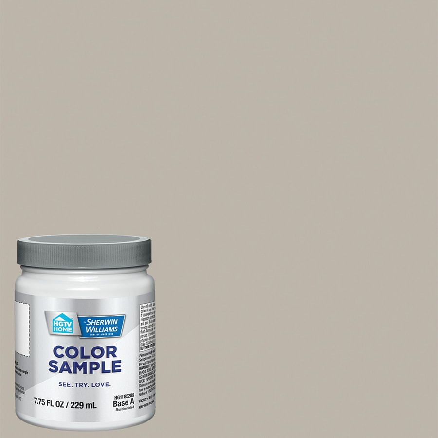 Hgtv Home By Sherwin Williams Adley Grey Interior Eggshell Paint Sample Actual Net Contents