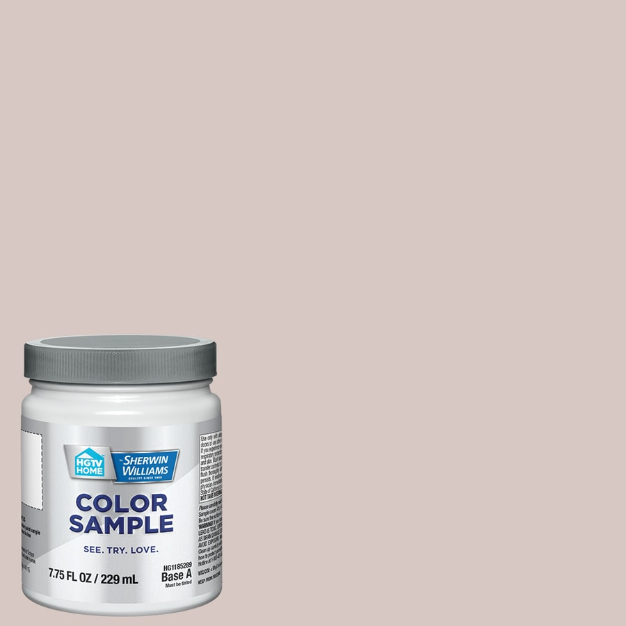 HGTV HOME by Sherwin-Williams White Truffle Interior Eggshell Paint Sample (Actual Net Contents: 31-fl oz)