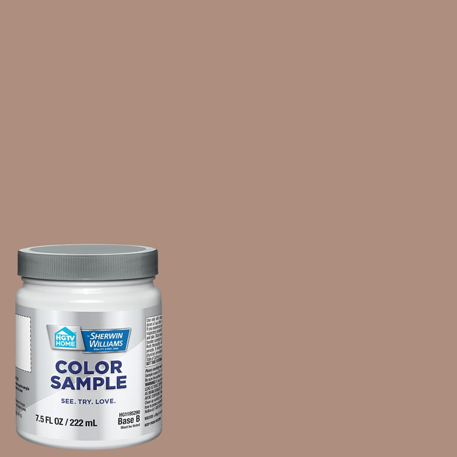 HGTV HOME by Sherwin-Williams Fiery Hue Interior Eggshell Paint Sample (Actual Net Contents: 31-fl oz)