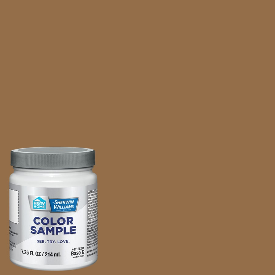 Hgtv Home By Sherwin Williams Antimony Gold Interior Paint Sample Actual Net Contents 8 Fl Oz