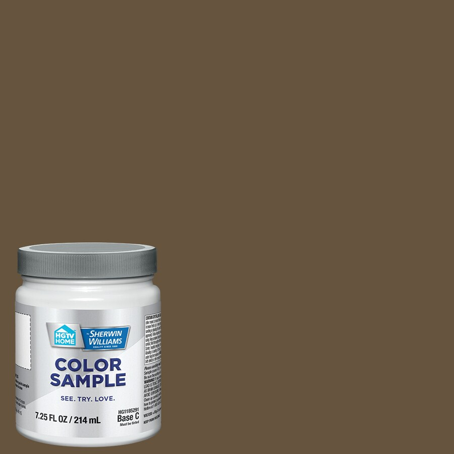 Gentil HGTV HOME By Sherwin Williams Art Of Bronze Interior Paint Sample (Actual  Net Contents