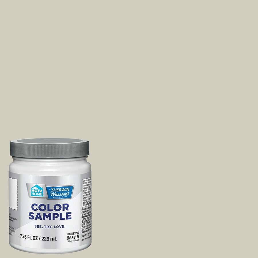 Hgtv Home By Sherwin Williams Sedate Gray Interior Paint Sample Actual Net Contents 8 Fl Oz