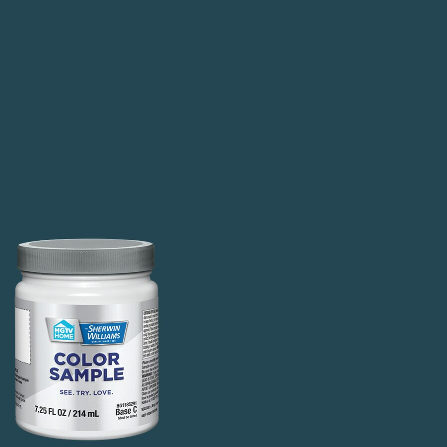 Hgtv Home By Sherwin Williams Archipelago Interior Paint Sample Actual Net Contents 8