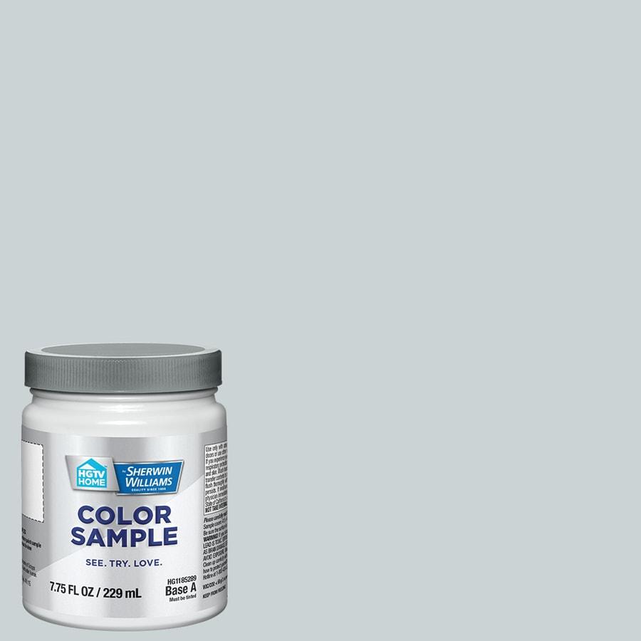 HGTV HOME by Sherwin-Williams Crisp Blue Interior Paint Sample (Actual Net Contents: 8-fl oz)