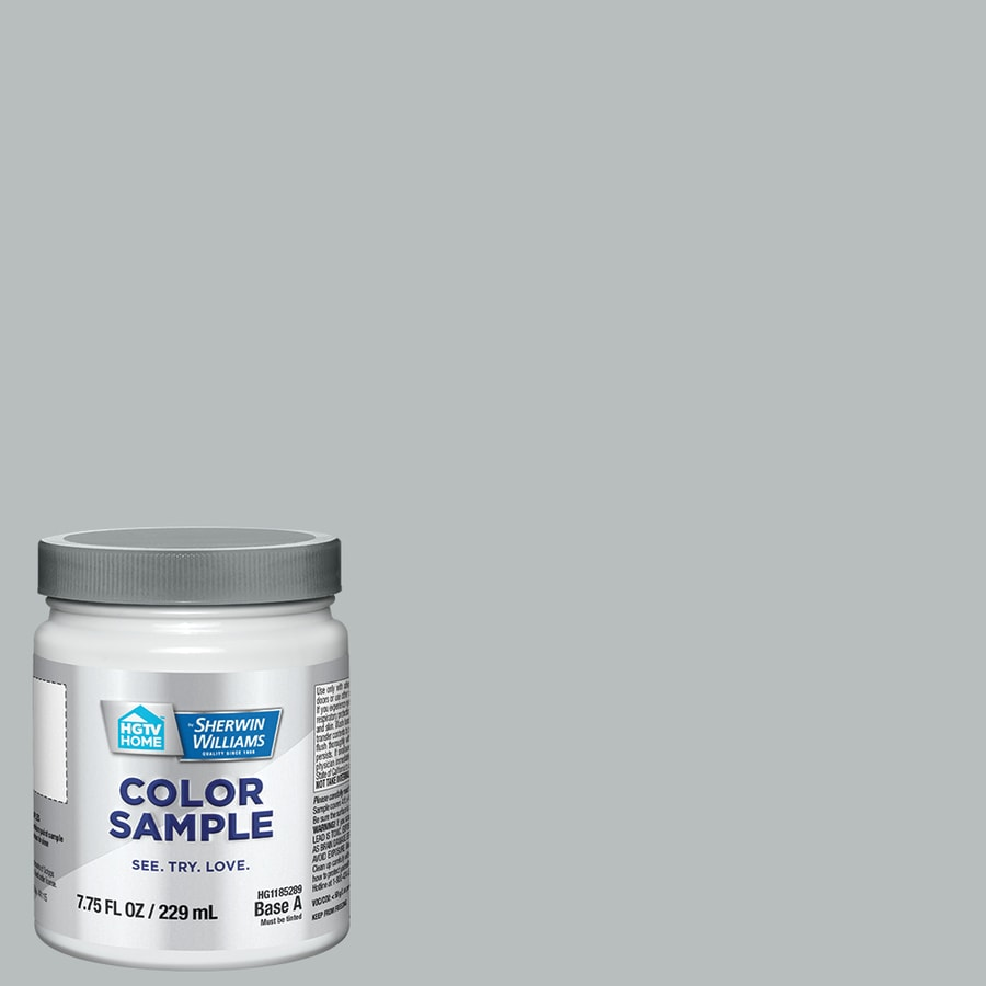 HGTV HOME By Sherwin Williams Silver Salvia Interior Paint Sample (Actual  Net Contents: