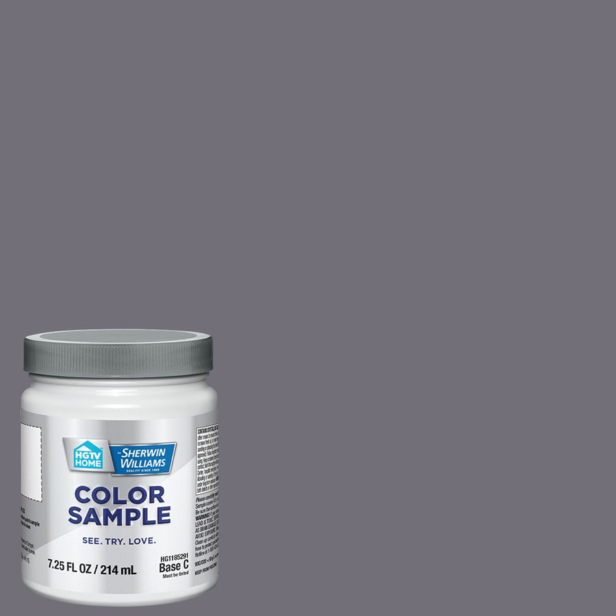 Hgtv Home By Sherwin Williams Smoky Purple Interior Paint Sample Actual Net Contents