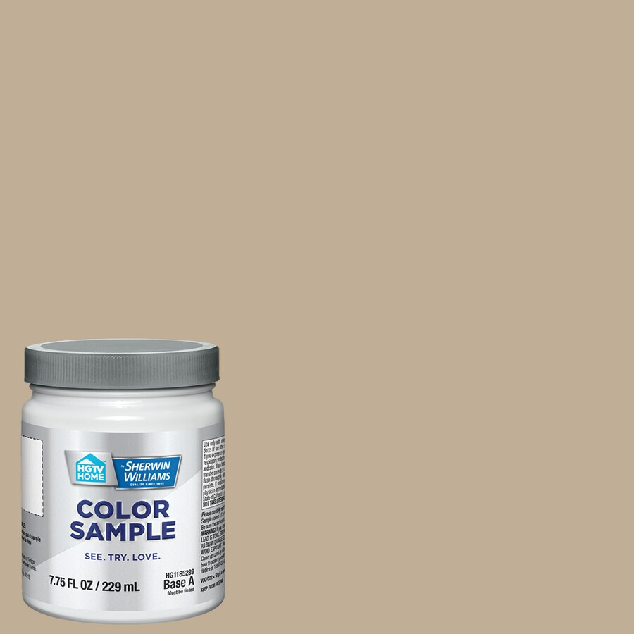 Hgtv Home By Sherwin Williams Khaki Shade Interior Paint Sample Actual Net Contents