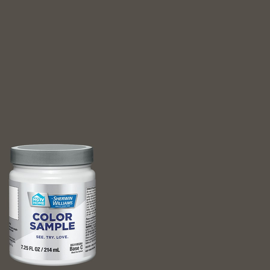 HGTV HOME By Sherwin Williams Urbane Bronze Interior Paint Sample (Actual  Net Contents: