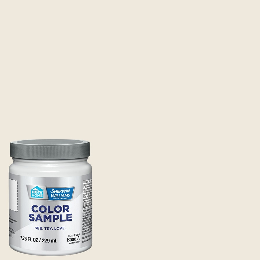 HGTV HOME by Sherwin-Williams Downy Interior Eggshell Paint Sample (Actual Net Contents: 31-fl oz)