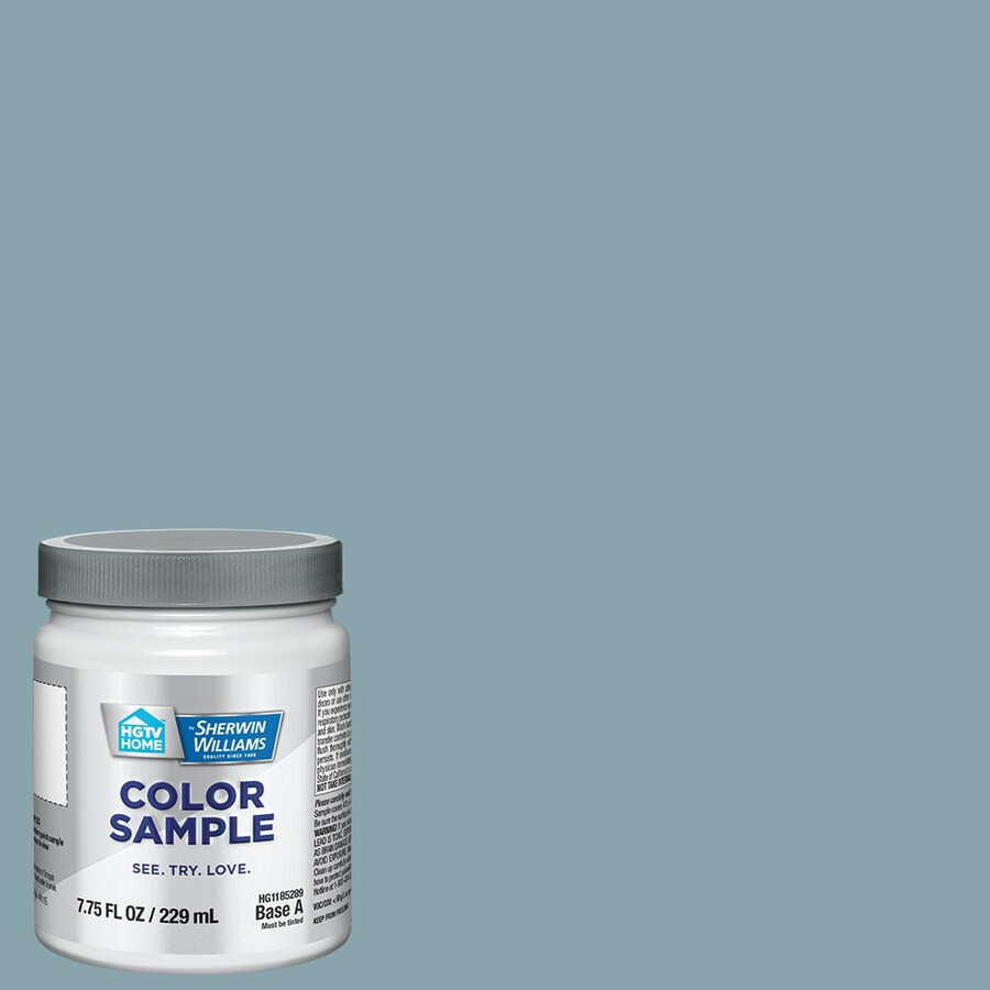Hgtv Home By Sherwin Williams Powder Blue Interior Paint Sample Actual Net Contents