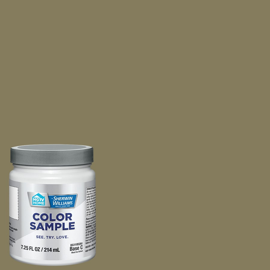 Hgtv Home By Sherwin Williams Olive Grove Interior Paint Sample Actual Net Contents