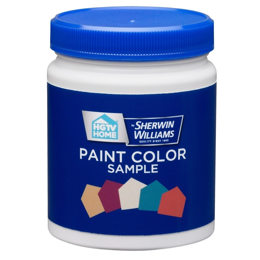 HGTV HOME by Sherwin-Williams Tintable to Any Color Interior Satin Paint Sample (Actual Net Contents: 7.75-fl oz)