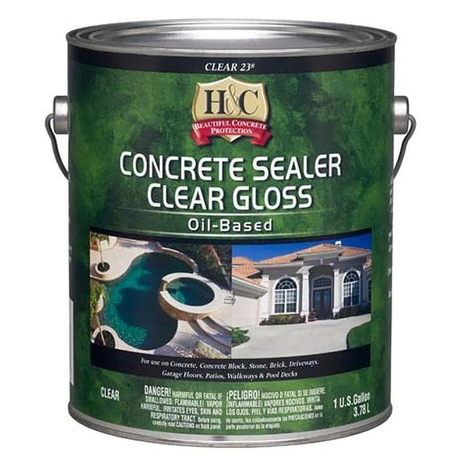 H&C Clear Gloss- Clear 23 (Actual Net Contents: 128-fl oz)