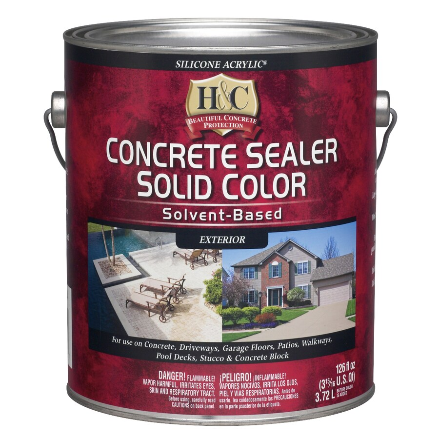 H&C Silicone Acrylic Solid Color Stain- Tint Base- Deeptone (Actual Net Contents: 118.02-fl oz)