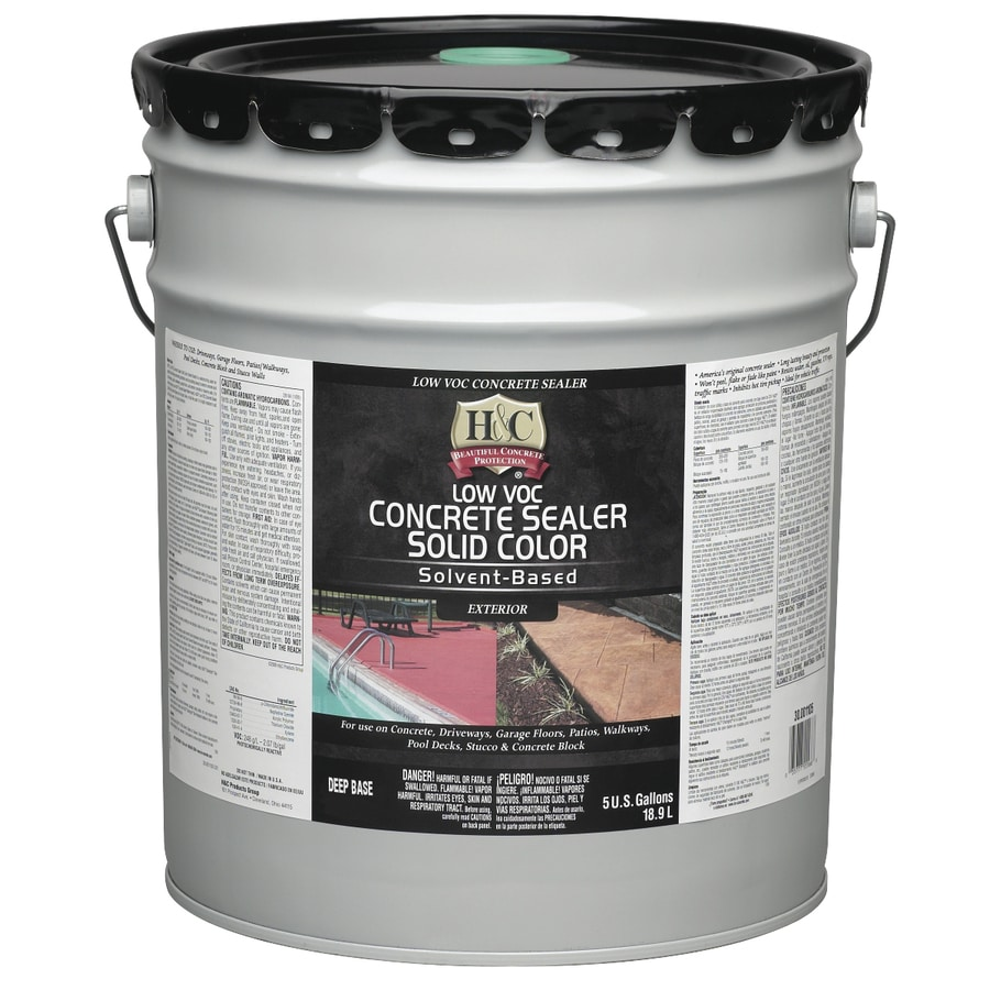 H&C 5-Gallon Solvent-Based Concrete Sealer