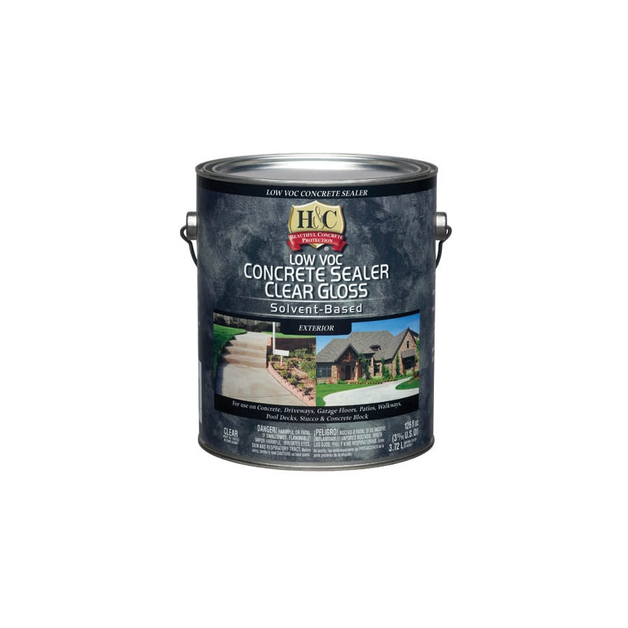 Write a Review about H&C Gallon Clear Gloss Solvent-Based Concrete